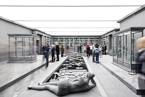 Insight the exhibition Op de Beeck